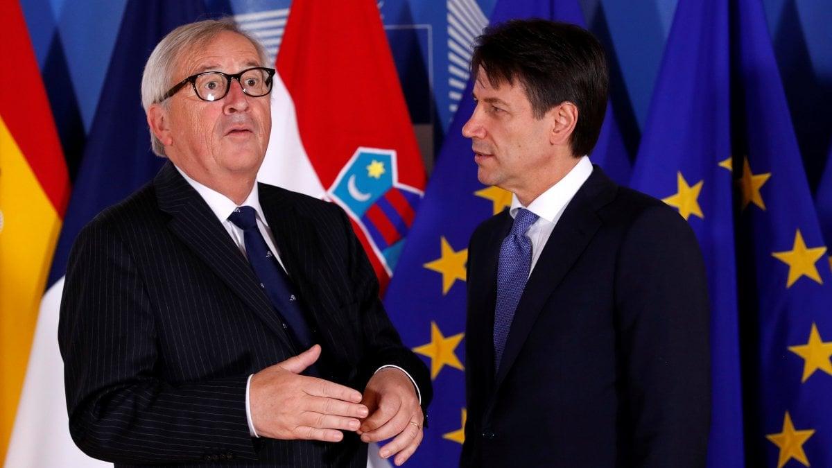 BRUXELLES - Il Presidente del Consiglio Giuseppe Conte arriva a