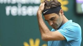 Federer va ko in finale ad halle con Coric e perde il primato