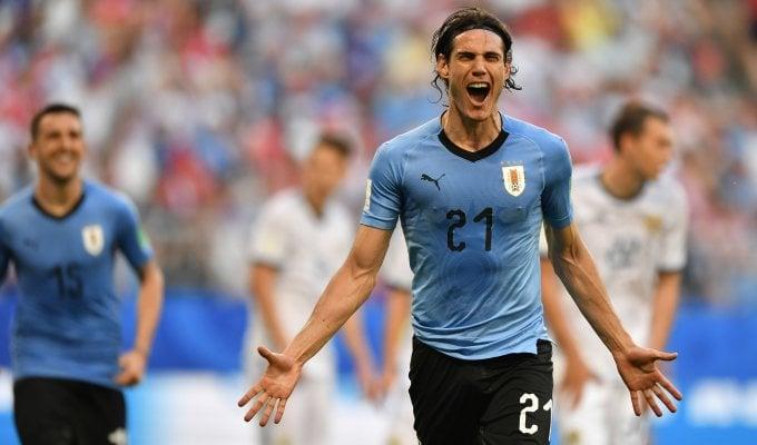 Uruguay, 3-0 alla Russia: è primo nel girone