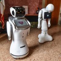 E all'asilo nido si balla con il robot