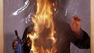 Quando Alberto Burri scherzava con il fuoco