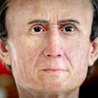 Nuovo look per Giulio Cesare: aveva gli occhi piccoli ed era