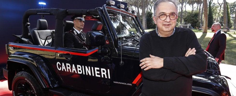Jeep ai carabinieri, nei secoli fedele