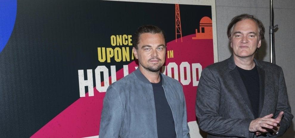 DiCaprio e Pitt anni Sessanta nella prima immagine del film di Tarantino