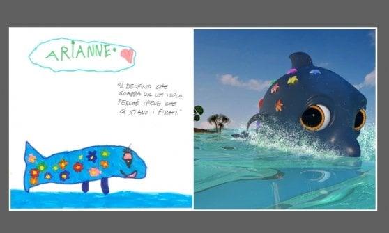 Disegni in 3D: ecco come gli studenti di BigRock hanno trasformato la fantasia dei vostri figli