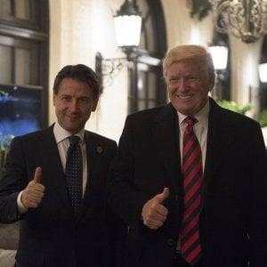 """Trump riceverà Conte il 30 luglio: """"Italia cruciale per la stabilità del Mediterraneo"""""""