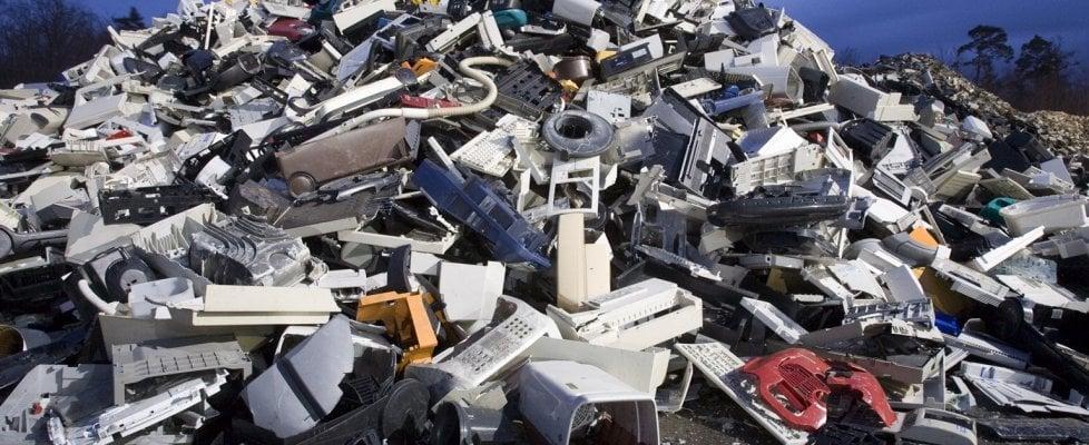 Rifiuti elettronici, raccolte 500mila tonnellate in 10 anni