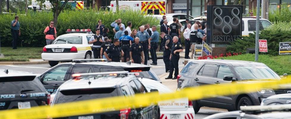 Annapolis, strage nella redazione: 5 morti. L'attentatore era in causa con il giornale