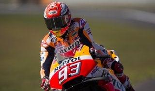 Motogp, Assen: Marquez domina le terze libere, Rossi quarto