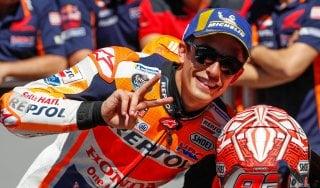 MotoGp, Assen: Marquez in pole, Rossi in prima fila e Dovizioso quarto