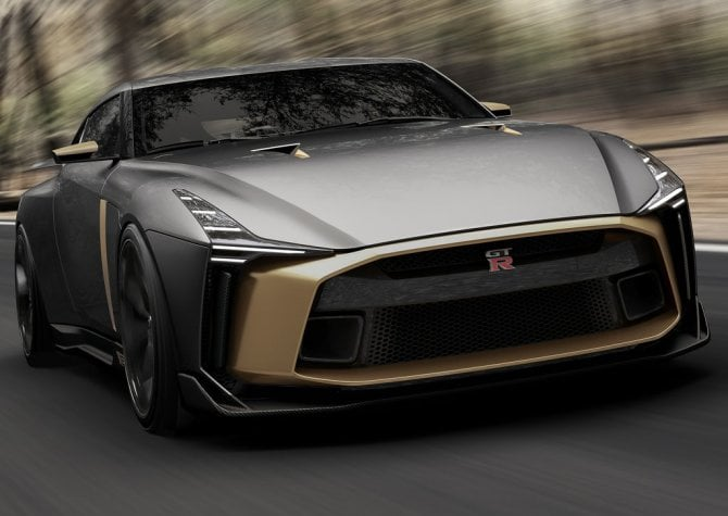 Nissan GT-R50 by Italdesign Concept