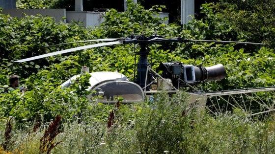 Spettacolare fuga dal carcere, boss della malavita scappa con l'elicottero