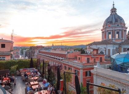 La grande bellezza delle terrazze romane: dove mangiare con una vista impareggiabile