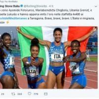 Maria Benedicta Chigbolu, a 16 anni la prima prova nella pista d'atletica di Roma