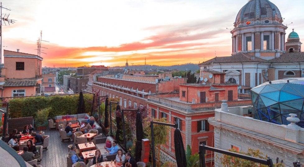 La grande bellezza romana:  dove mangiare in terrazza con una vista impareggiabile