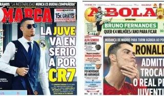 """Dalla Spagna rilanciano: Ronaldo è della Juve. """"Sì all'offerta da 100 milioni di euro"""""""