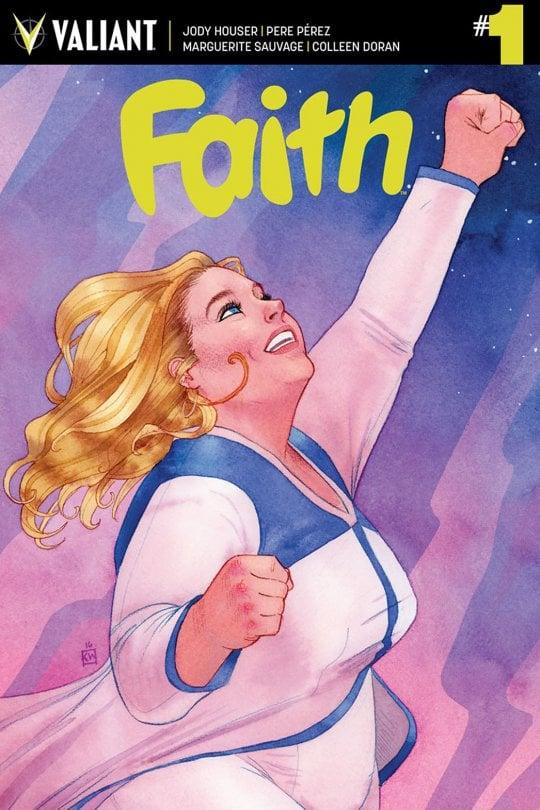 Faith Herbert, la superdonna formato xl: dal fumetto al set, l'impresa è mastodontica