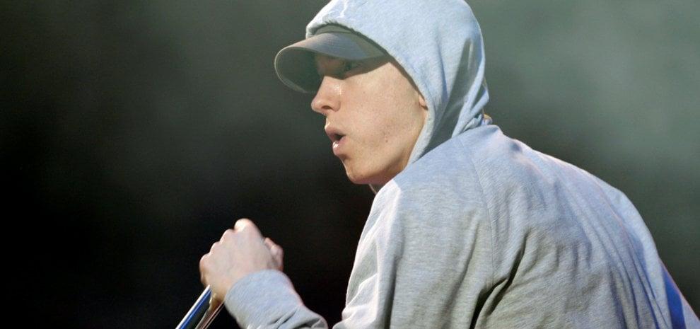 Eminem, il dio del rap per la prima volta in concerto in Italia