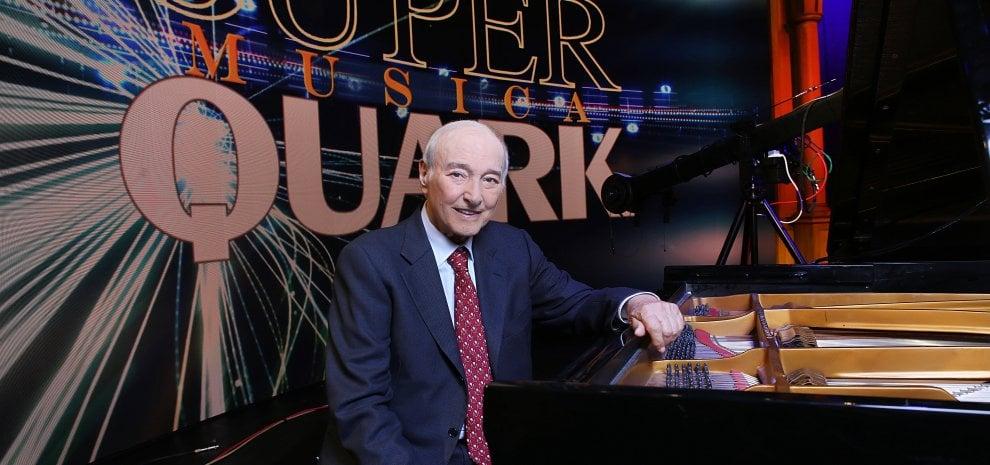Piero Angela tra scienza e pianoforte con 'SuperQuark Musica'
