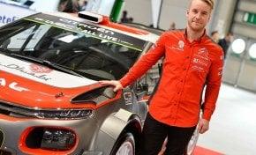 Mads Ostberg, nuovo asso al fianco di Craig Breen sulla seconda C3 WRC