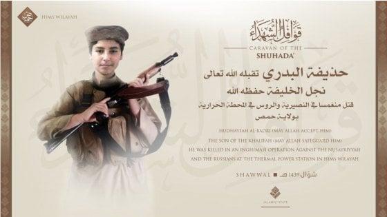 """Isis: """"Ucciso in Siria il figlio di al-Baghdadi"""""""