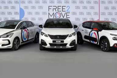Free2Move Paris, la mobilità in car sharing diventa elettrica