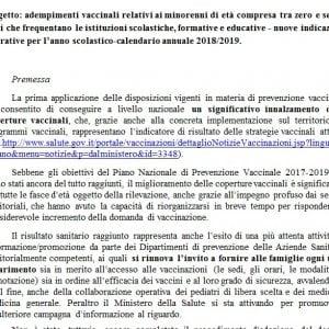 Calendario Delle Vaccinazioni.Vaccini Tutte Le Novita Della Circolare Cosi Cambia L