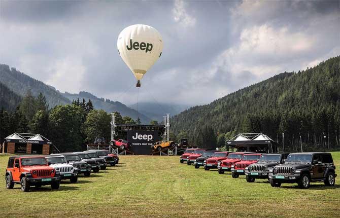 Camp Jeep 2018, il Barnum dei 4x4