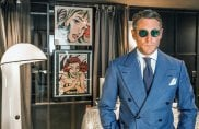 Lapo Elkann, i vestiti come strumento di marketing