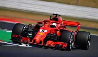 F1, Gp Gran Bretagna: Vettel il più veloce nelle seconde libere