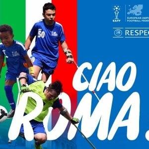 Un cuore, due stampelle e tanto talento: a Roma il Training Camp dei giovani campioni