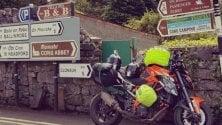 Luca Guerzoni, quando la passione per la moto è più forte di tutto