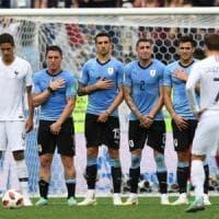 Gimenez e le lacrime uruguaiane