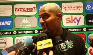 """Sassuolo, il giorno di Boateng: """"Già conquistato dal club"""""""