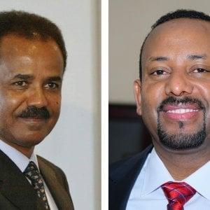 Etiopia-Eritrea: storico abbraccio tra i due leader dopo 20 anni