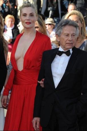 Emmanuelle Seigner, moglie di Polanski, rifiuta invita dell'Academy