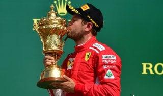 """F1, Gp Gran Bretagna; Vettel: """"Bello vincere qui, in casa loro..."""""""