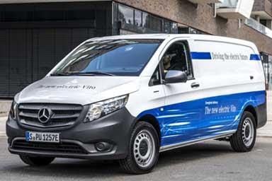 Mercedes Vans eVito, trasporti elettrici