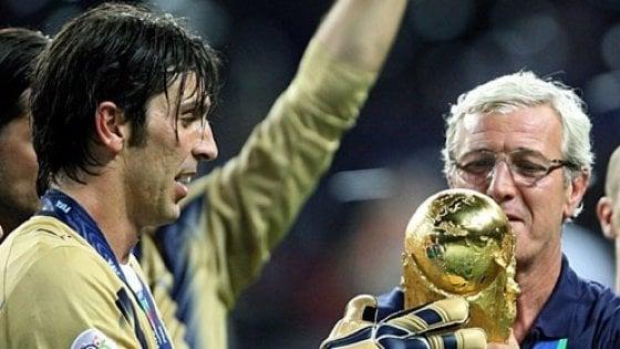 """Lippi: """"Buffon al Psg? Avrei preferito finisse la carriera alla Juve"""""""