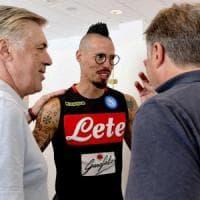 Napoli, è il giorno del raduno: e Ancelotti pensa a Benzema