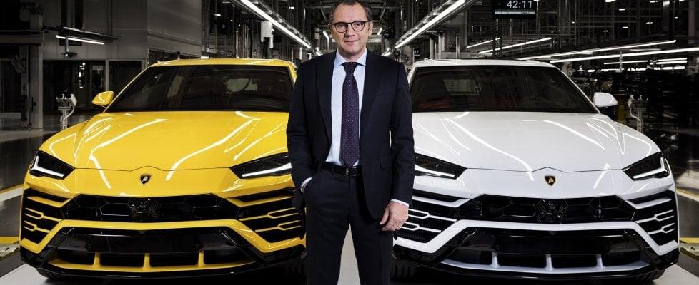 """Domenicali: """"Il laboratorio per la Lamborghini elettrica è aperto"""""""