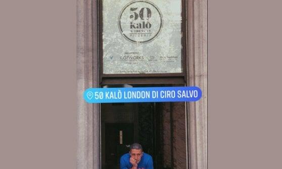 """La pizza di Ciro Salvo sbarca a Londra: """"Porto fin qui l'anima di Napoli"""""""