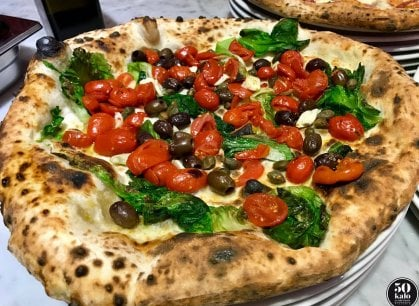 La pizza di Ciro Salvo sbarca a Londra: