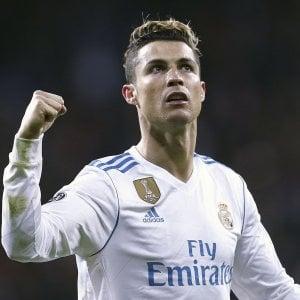 L'asso portoghese Cristiano Ronaldo