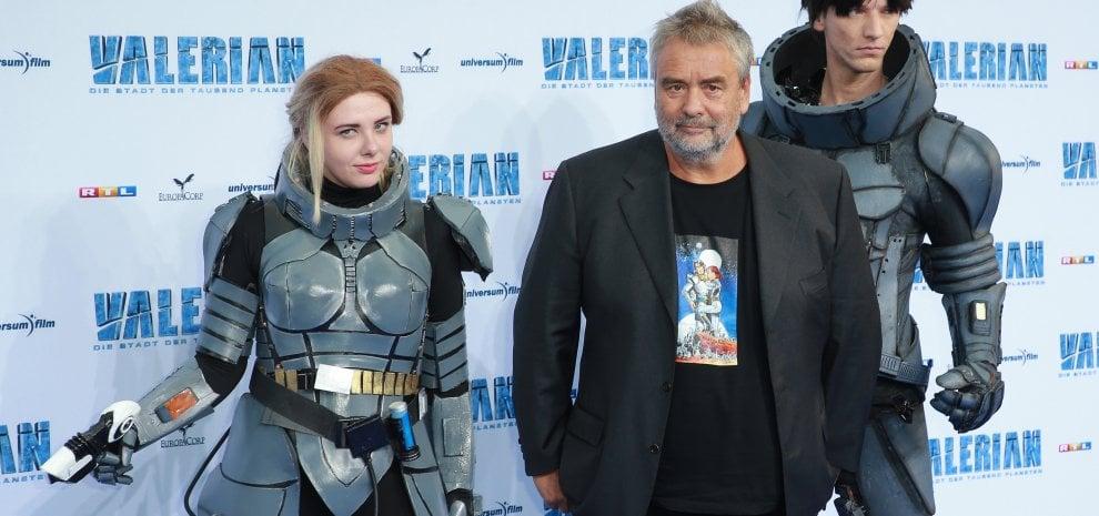 Molestie, nuove accuse di violenza per il regista Luc Besson