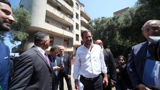 """Salvini in Calabria: """"Mafia e 'ndrangheta cancro che si è allargato in tutta Italia"""""""