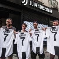 Juventus, già in vendita le maglie di Cristiano Ronaldo