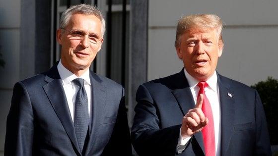 Trump minaccia di uscire dalla NATO, poi tranquillizza tutti