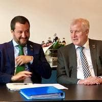 Migranti, Salvini vede Seehofer: