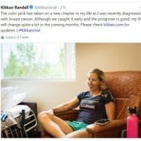 """L'annuncio della campionessa olimpica di PyeongChang. Kikkan Randall: """"Ho il cancro"""""""